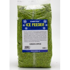Зимняя прикормка увлажненная Carptex Green Spice (Зеленая)